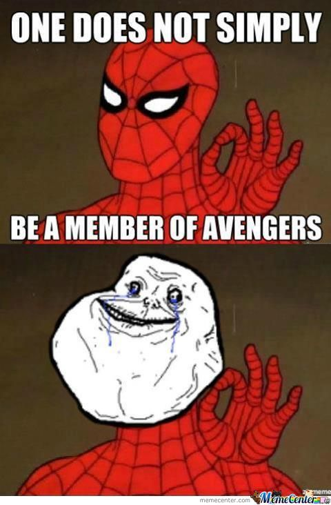Forever Alone Spidy