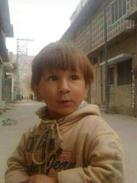 Found Messi In Pakistan.