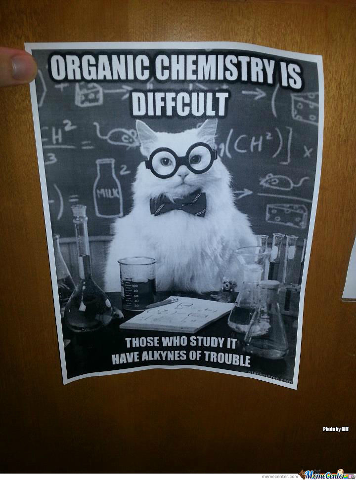 Found This On My Chemitstry Lab Door This Time