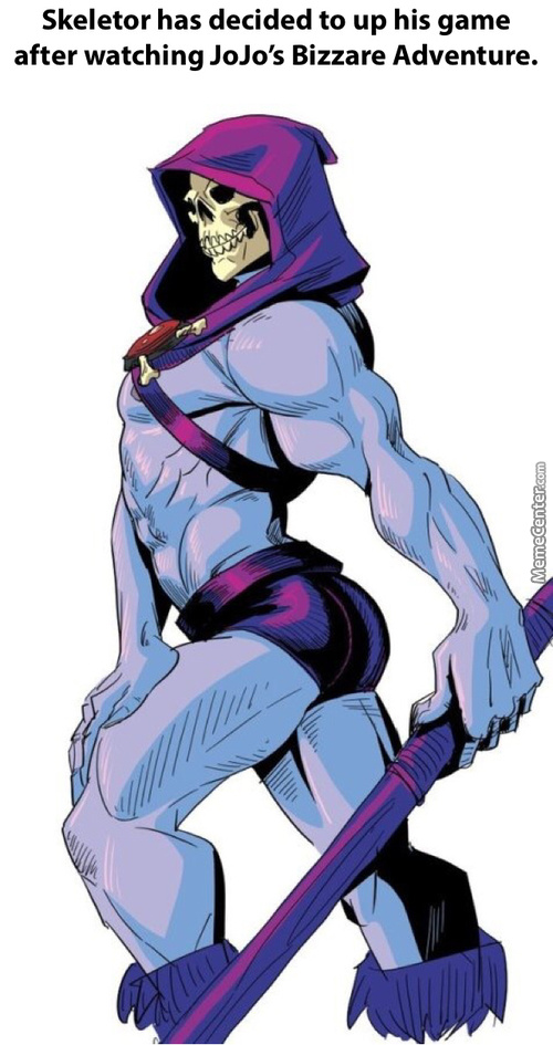 Found What Skeletor Has Been Up To All These Years