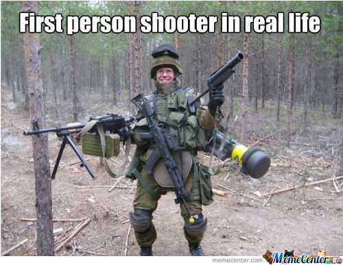 Browser games first person shooter