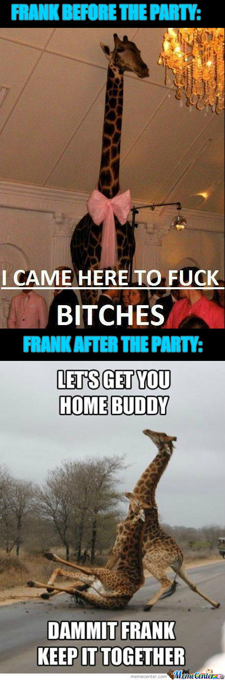 Frank The Giraffe.....