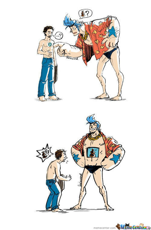 Franky And Ironman...... Super!!!!