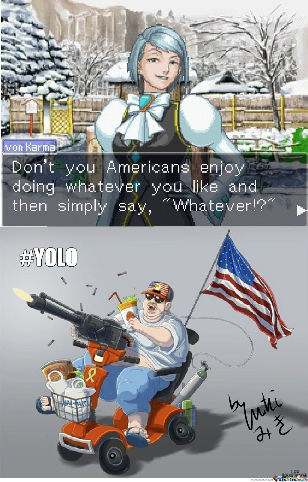 Franziska Von Karma And Murica