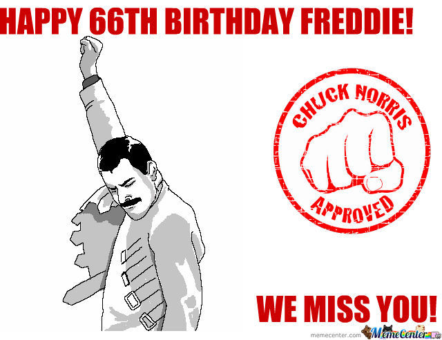 Freddie's Birthday!