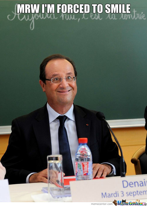 French President Is A Cutie