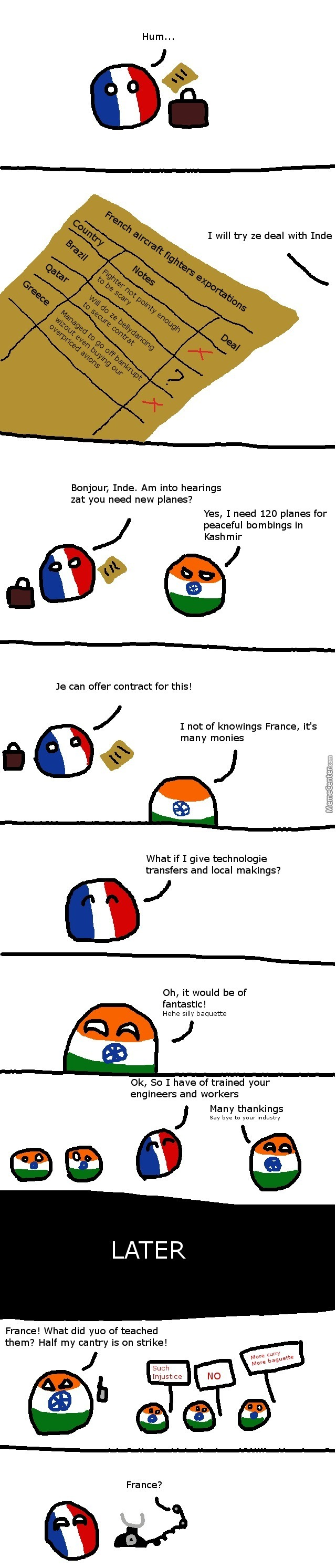 French Technology Backfires