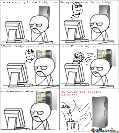 Fridge Rage