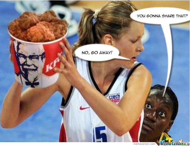 Funny Kfc Fried Chicken: Fried Chicken Is Delicious By Bobster500