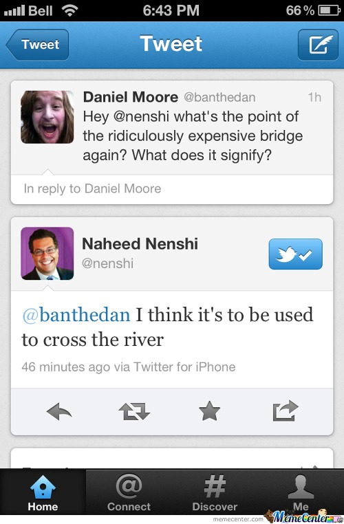 Friend Got Owned By The Mayor On Twitter