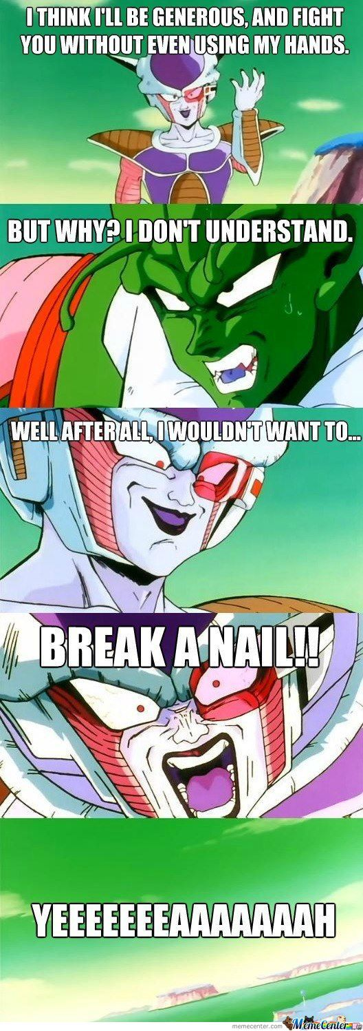 Frieza Nailed That Pun