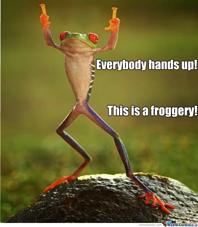 Frog At The Robbery