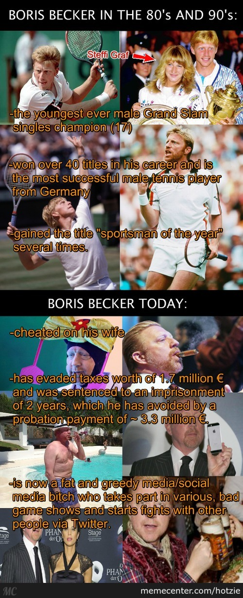 From A Tennis Star To A Human Wreck