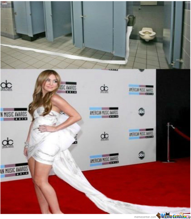 From Toilet To Red Carpet