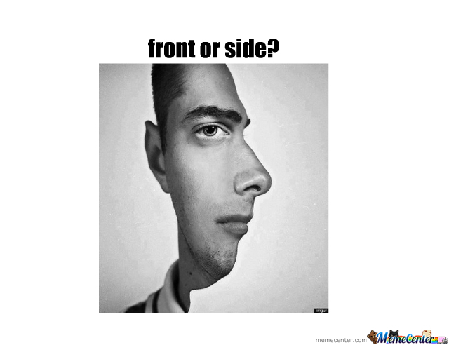Front Or Side?