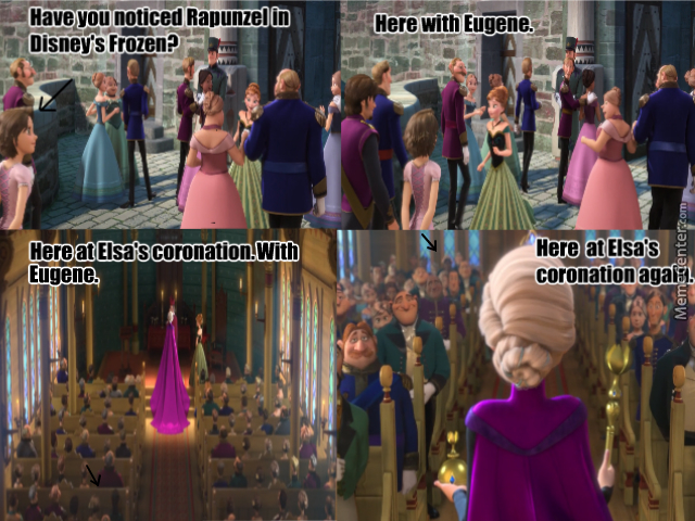 Tangled combined and Frozen