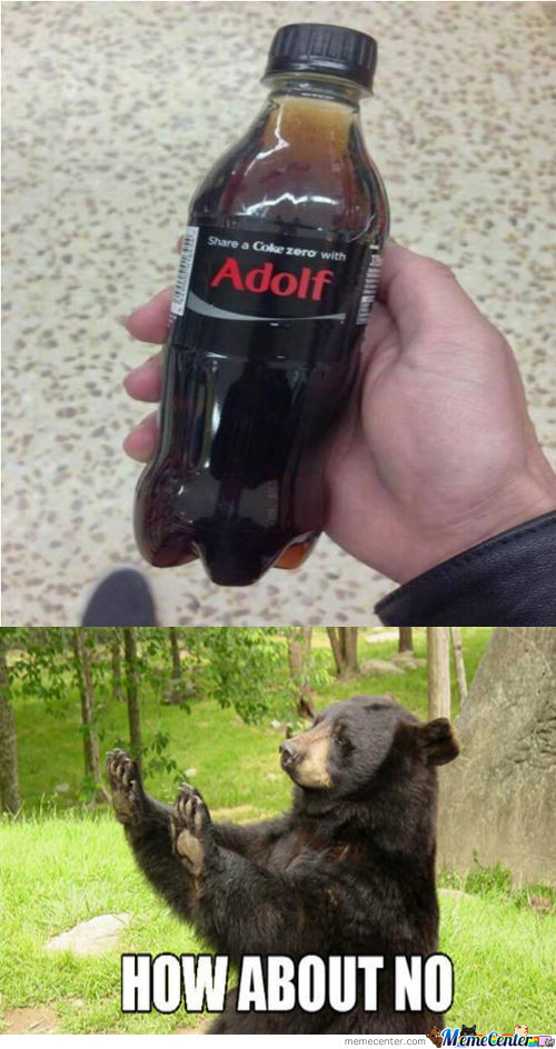 Share a Coke With Adolf