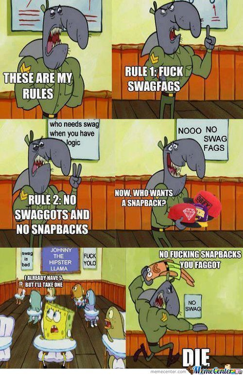 Fuck Swag Fags