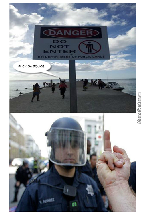 Fuck the police in multiple languages