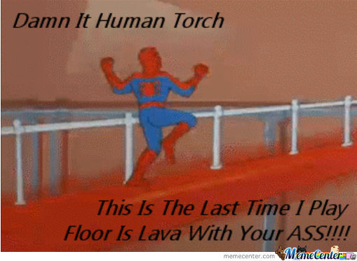 Fuck You Human Torch
