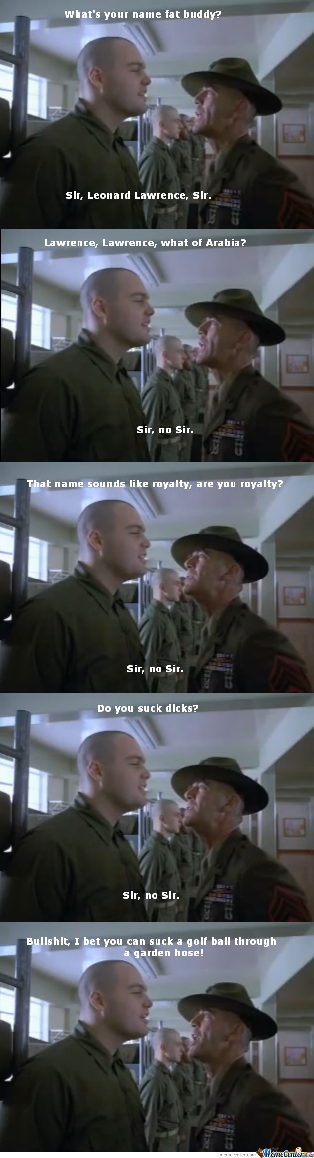 Full Metal Jacket By 350zerpette Meme Center