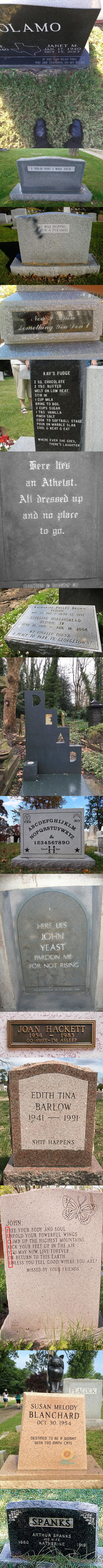 Fun With Tombstones
