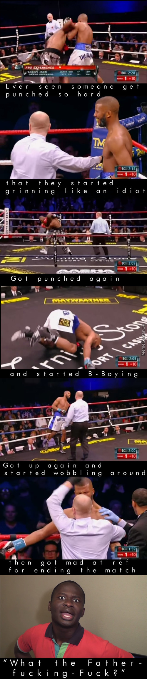 Funniest Boxing Match Ever