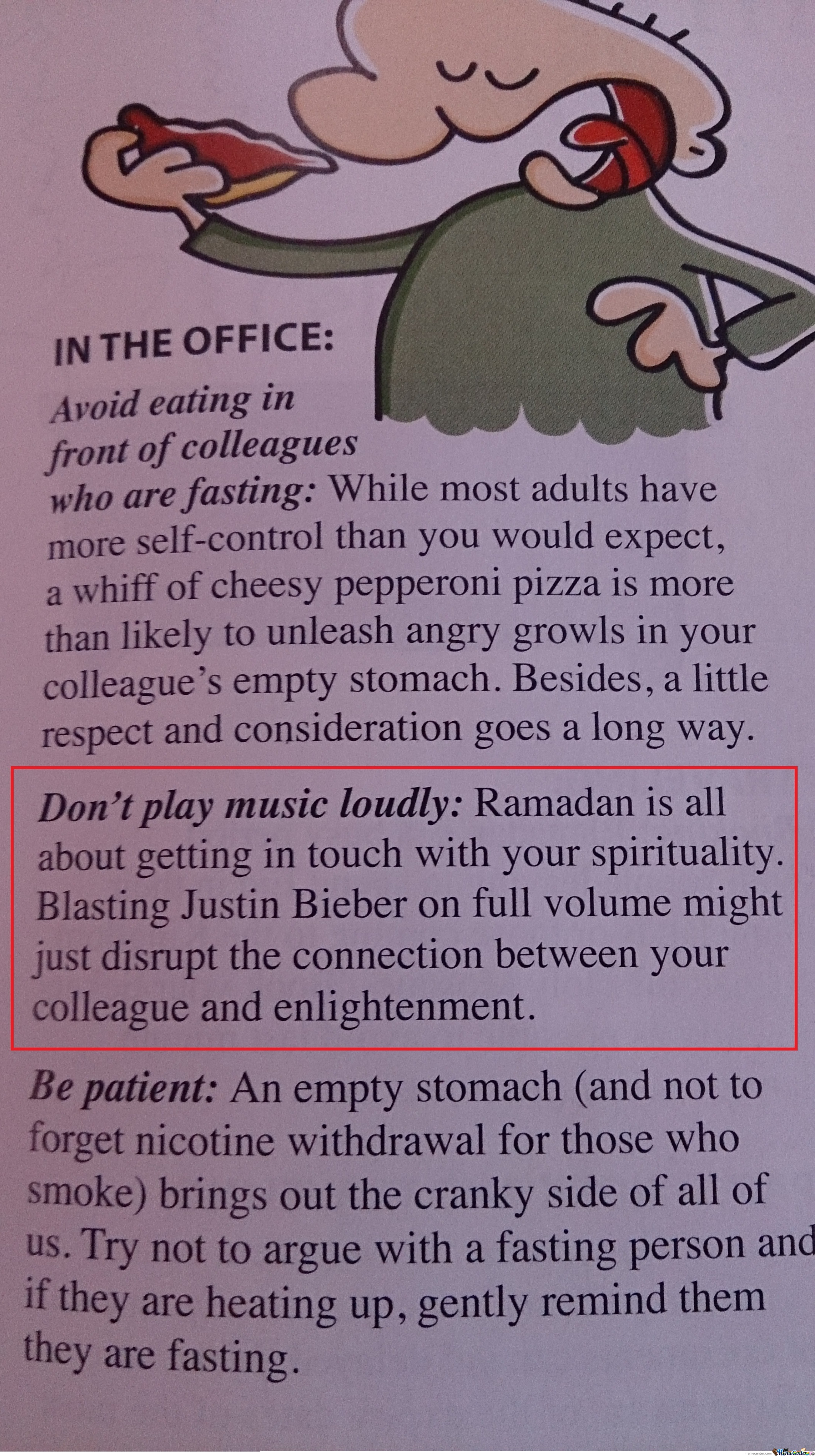 Funny magazine article about ramadan by recyclebin meme center