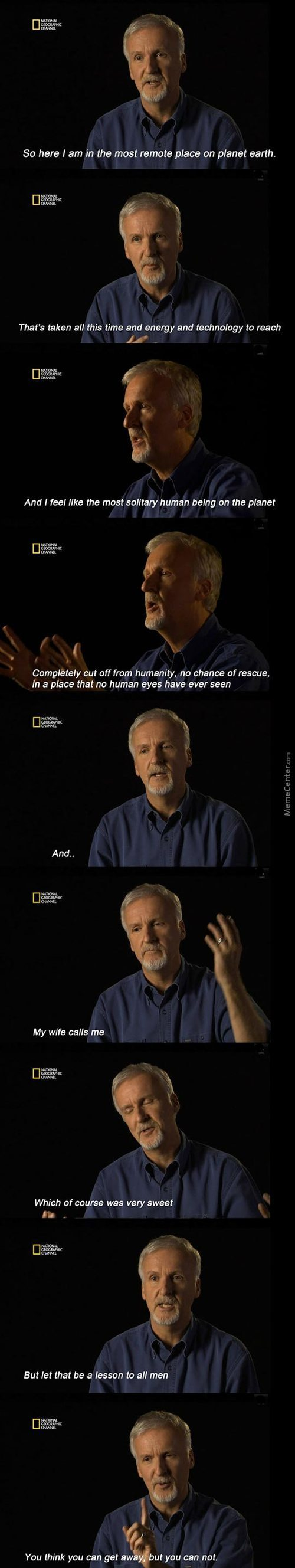 Funny Man On National Geographic