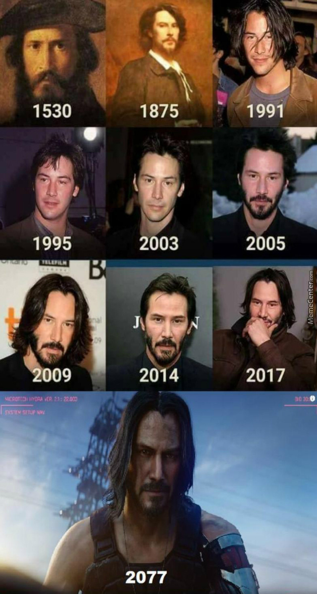 Further Proof Of Immortal Keanu