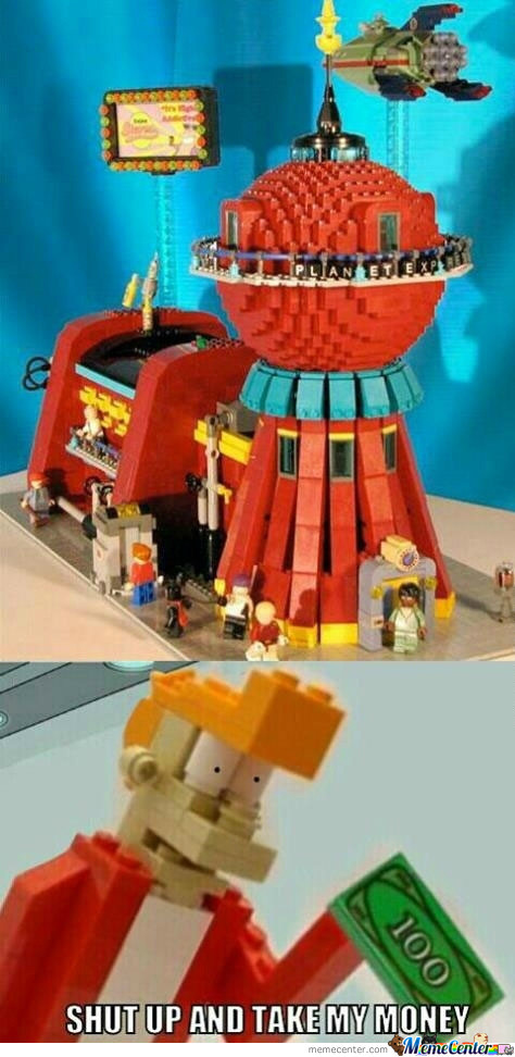 Futurama: Lego Version!