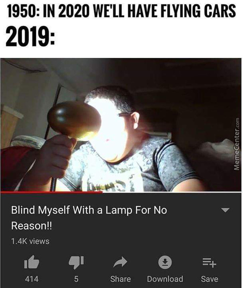 Future Is Now Blind Man