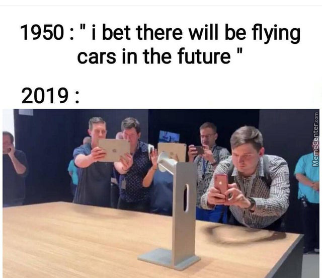 Future Is Now Old Man