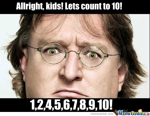 Gabe Newell Hates 3