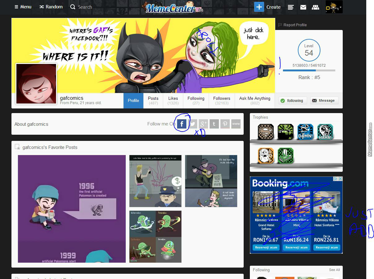 Gaf, There's A Problem With Your Cover Now Xd Or... You Know It But You Are Just Trolling?