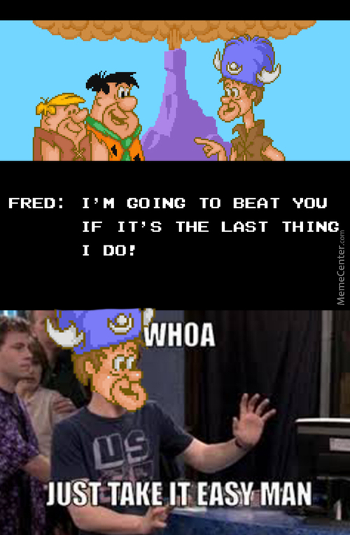Game Fred Really Needs To Watch His Temper