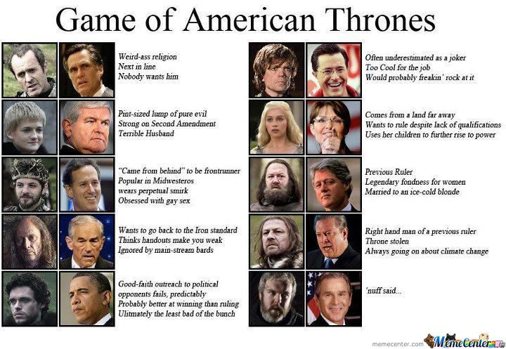 Game Of American Thrones