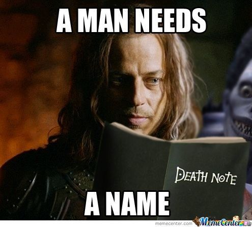 Game Of Thrones & Death Note Crossover