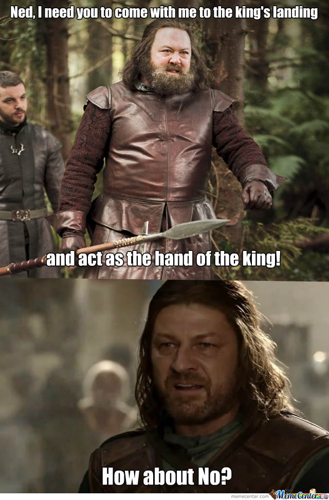 Game Of Thrones : Ned Stark Lives.