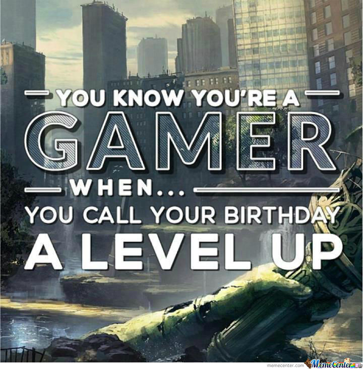 Gamer Birthdays!