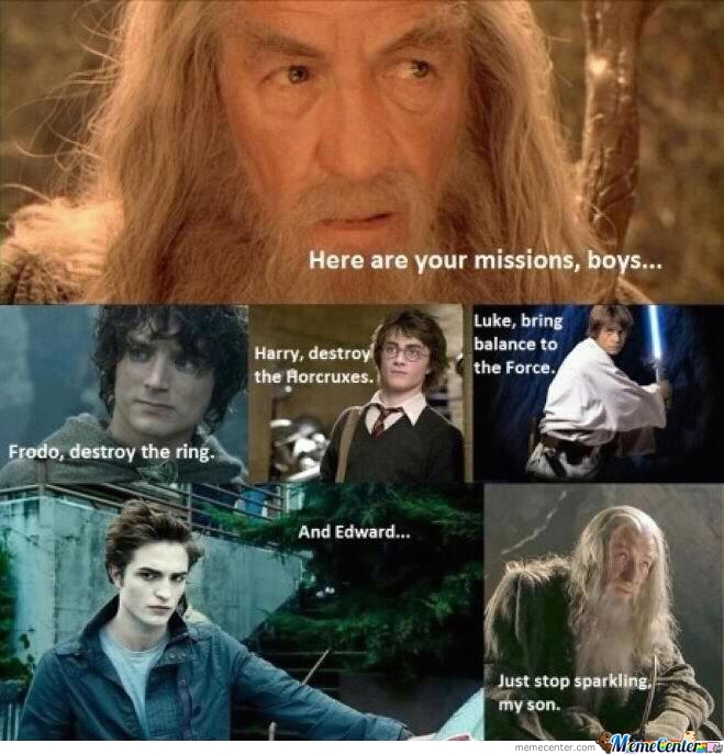 Gandalf Gives Missions