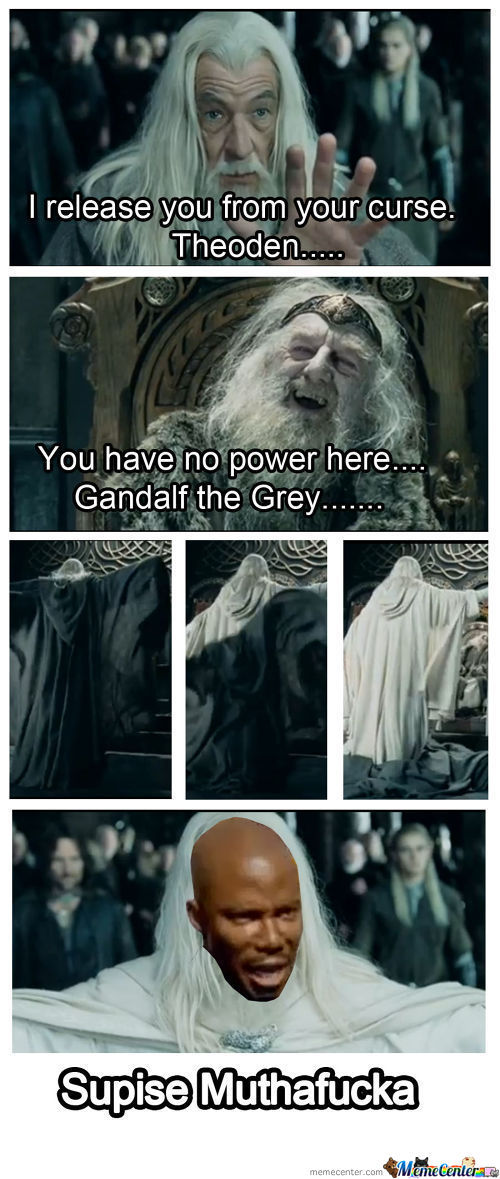 Gandalf The Black...