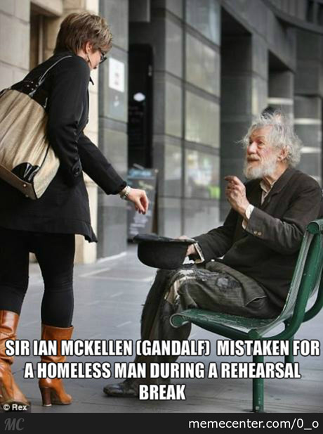 Gandalf The Homeless.