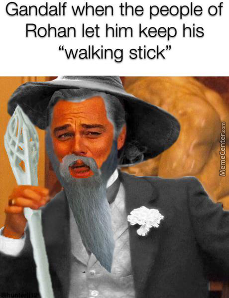 "Gandalf's ""Walking Stick"""