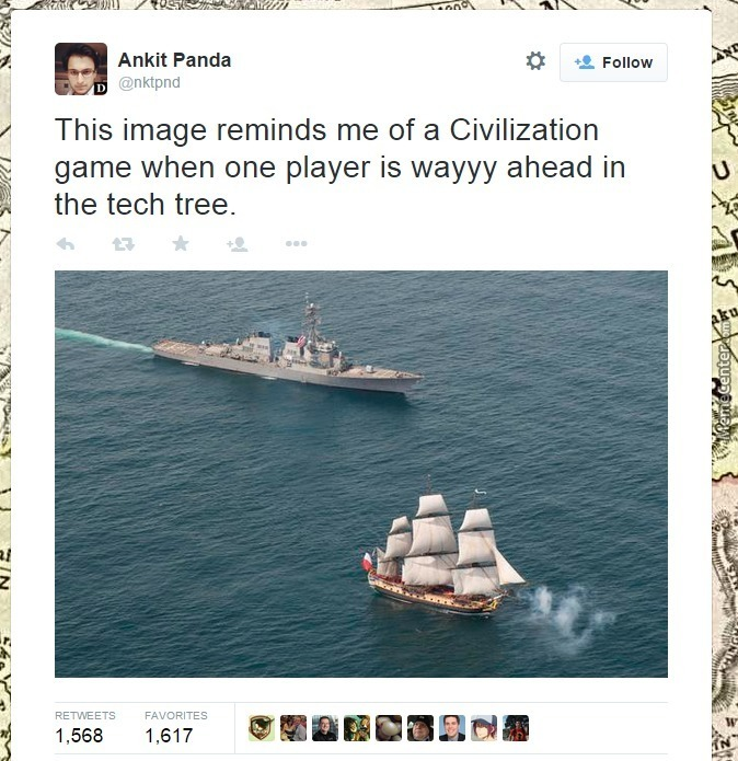 Gandhi's Submarine Is Hiding Somewhere