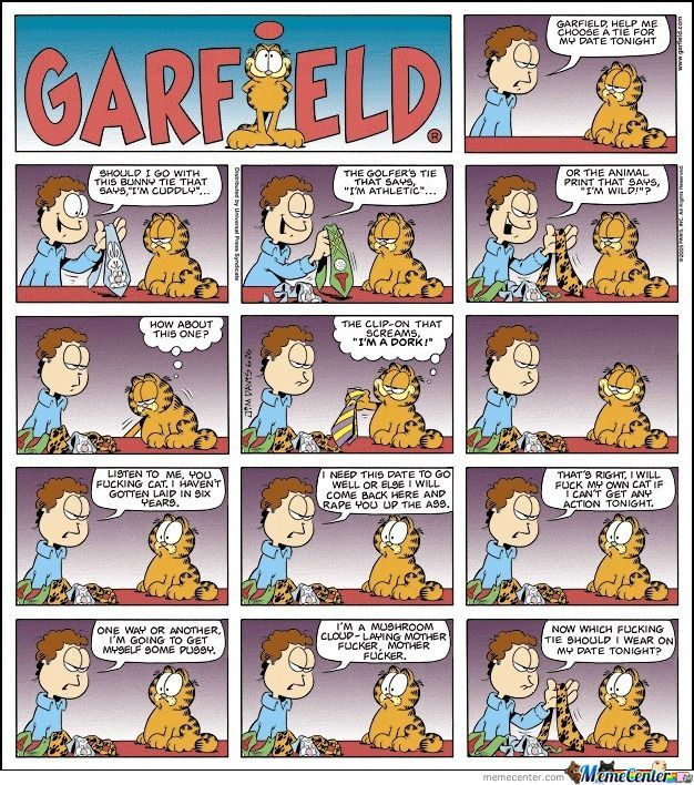 Garfield Rape (Sharing)