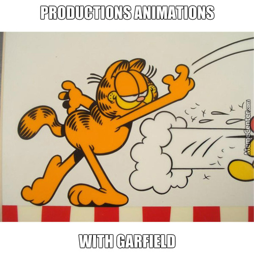 Garfield With Animations Productions
