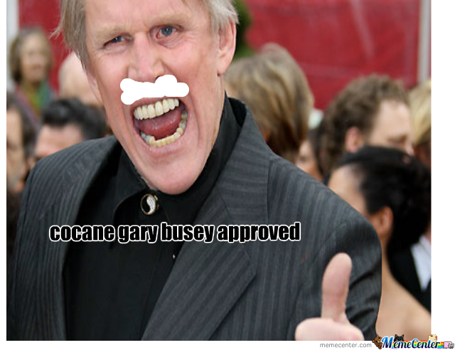 Gary Busey Approved