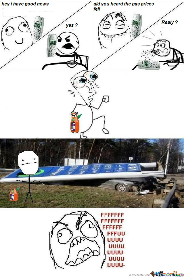 Gas Prices Fell