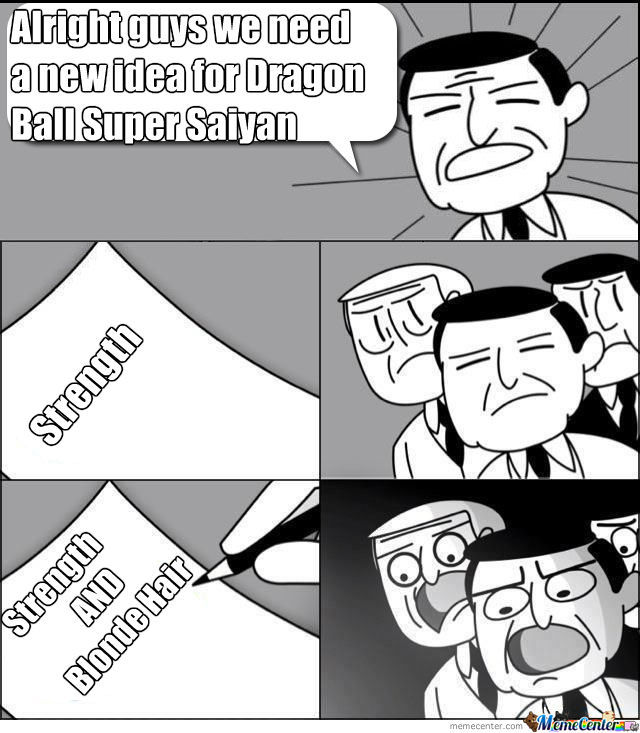 Alright guys we need a new idea for Dragon Ball